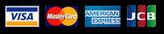 VISA/Master Card/AMERICAN EXPRESS/JCB